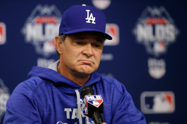 Don Mattingly a été le gérant des Dodgers... (Photo Frank Franklin II, AP)