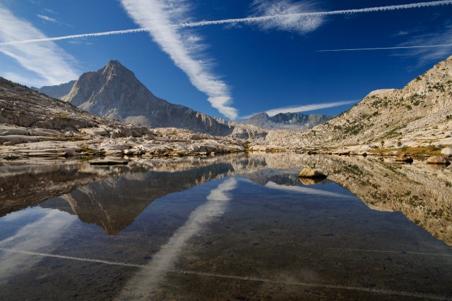 Le sentier de la John Muir Trail (JMT)... (Photo Marie-Soleil Desautels, La Presse)