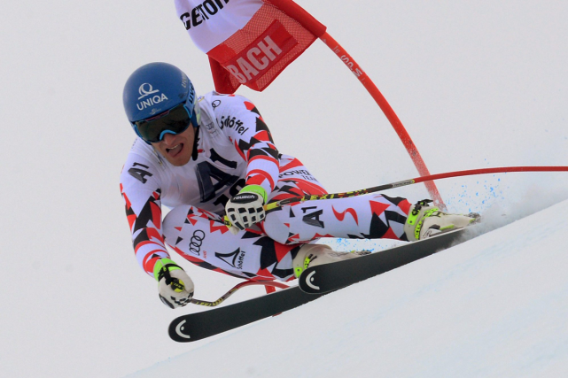 Matthias Mayer... (Photo Giovanni Auletta, archives AP)