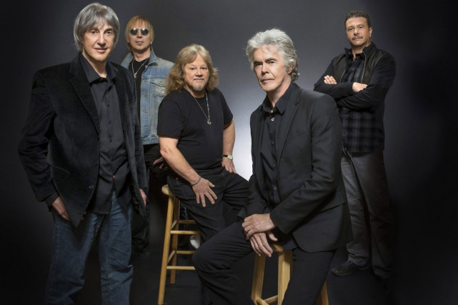 Les membres du groupe Three Dog Night en... (PHOTO ARCHIVES AP)