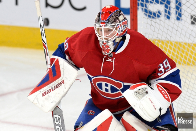 Mike Condon sera devant le filet du Canadien... (Photo Bernard Brault, La Presse)