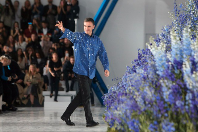 Raf Simons... (Photo Thibault Camus, AP)