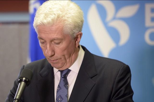 Lors de son discours, Gilles Duceppe a fait... (La Presse Canadienne, Ryan Remiorz)
