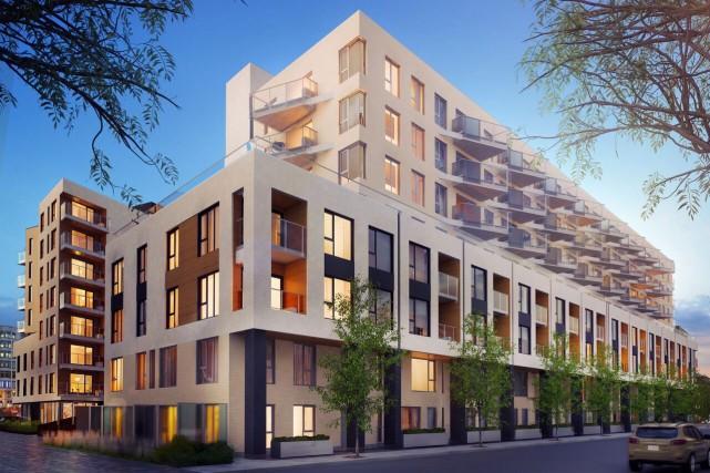 La structure des édifices du complexe Arbora sera... (ILLUSTRATION FOURNIE PAR LEMAY + CHA)
