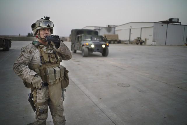 Les États-Unis ont déployé 3500 militaires en Irak,... (PHOTO AYMAN OGHANA, ARCHIVES THE NEW YORK TIMES)