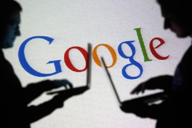 Le géant internet Google a enregistré des résultats meilleurs que prévu au... (Photo Archives Reuters)