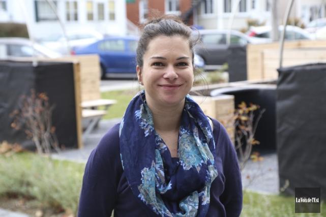 Déjà très engagée à Granby, Julie Bourdon souhaite... (Janick Marois, La Voix de l'Est)