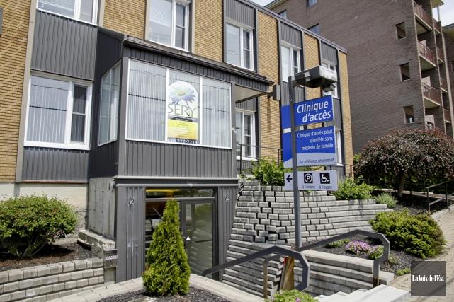 La clinique d'accès de la rue Saint-Jacques a... (Photo archives La Voix de l'Est)