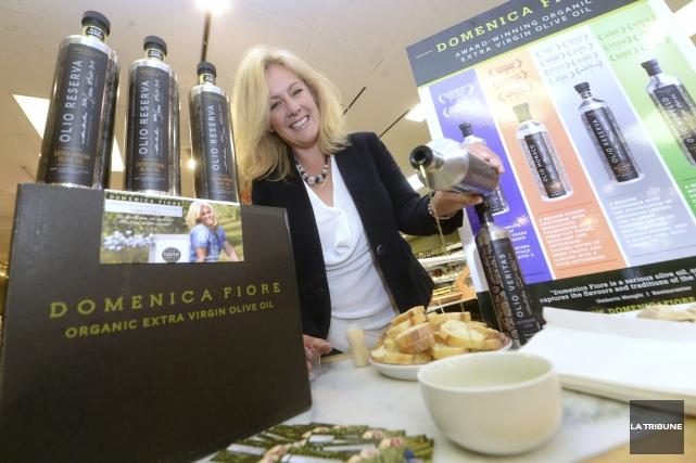 Judith Bérard, productrice d'huile d'olive.... (La Tribune Imacom, Maxime Picard)