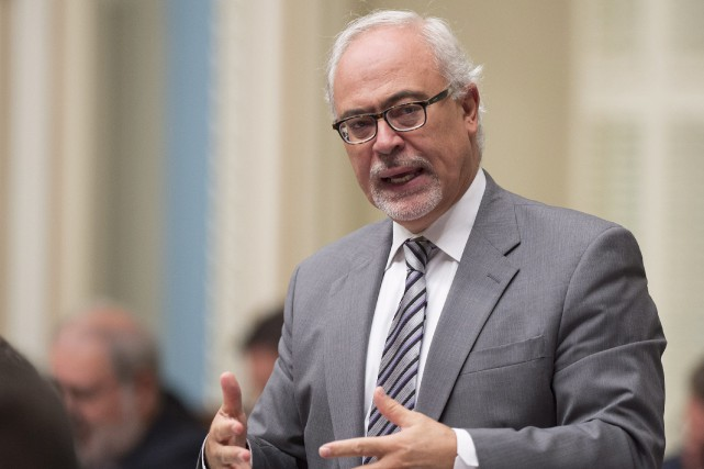 Le ministre des Finances du Québec, Carlos Leitao... (Photo Jacques Boissinot, La Presse Canadienne)
