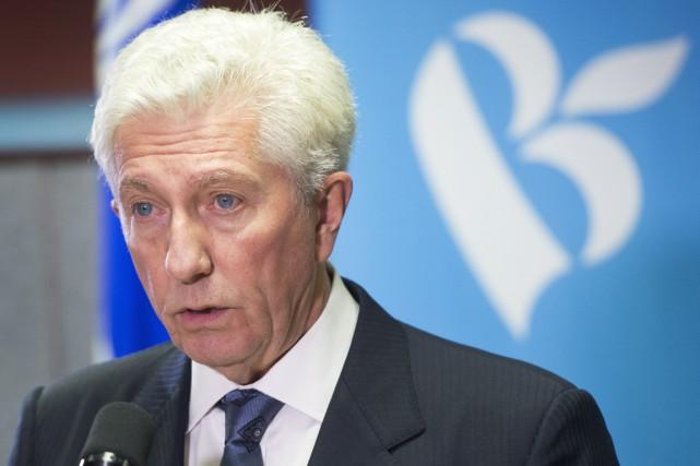 Gilles Duceppe a annoncé jeudi qu'il tournait la... (Photo: La Presse Canadienne)