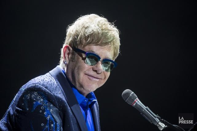Elton John retrouve T Bone Burnett pour un... (Archives La Presse)