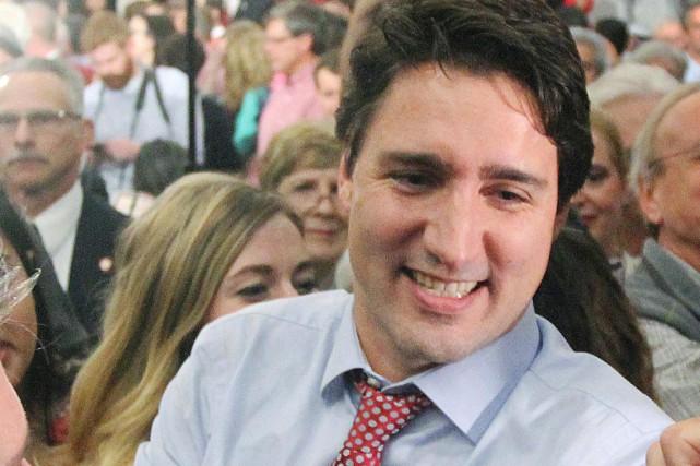 Justin Trudeau, premier ministre du Canada....