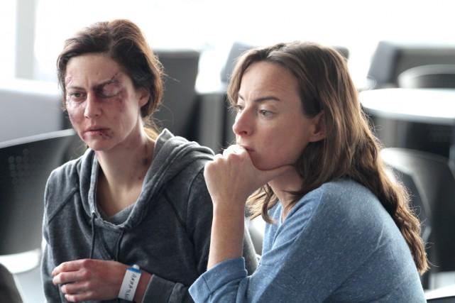 Anna (Anna Mouglalis) va elle-même devenir victime des... (Fournie par Les Films Séville)
