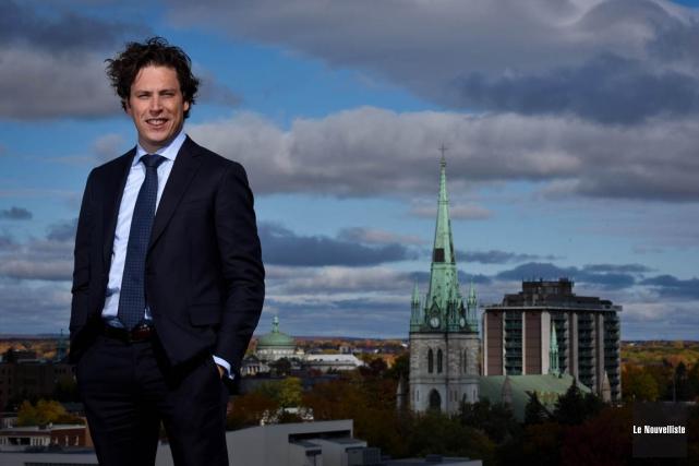 Natif de Trois-Rivières, Alain Bergeron, 39 ans, est... (François Gervais, Le Nouvelliste)