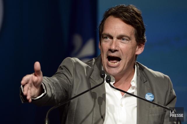 Le chef du Parti québécois, Pierre Karl Péladeau... (Archives La Presse)