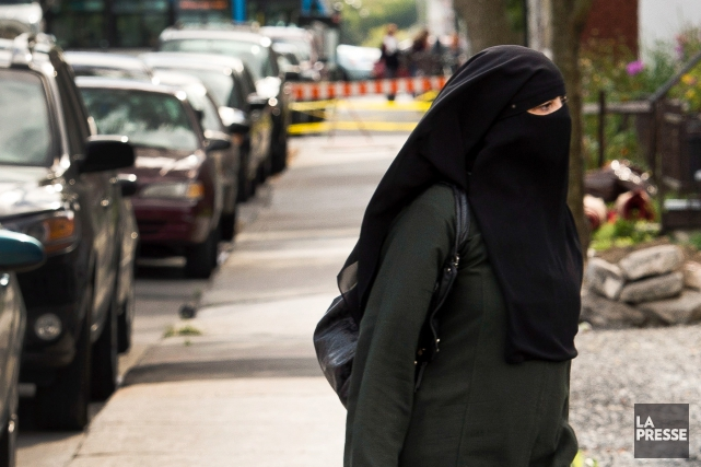 «L'affaire du niqab, à l'instar de la charte... (Archives La Presse)