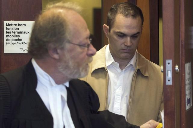 Guy Turcotte au palais de justice de Saint-Jérôme,... (Ryan Remiorz, Archives La Presse Canadienne)