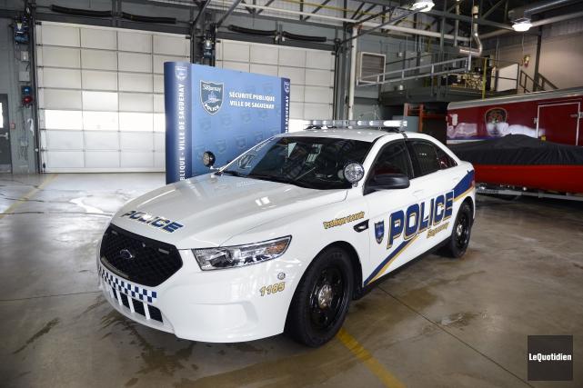 La section des projets spéciaux de la Sécurité publique de Saguenay (SPS) a... (Archives Le Quotidien)