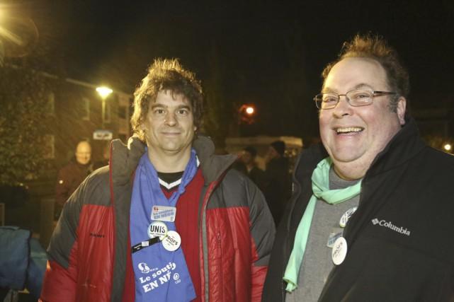 Alain Sauvageau, président du syndicat des employés de... (Julie Catudal)