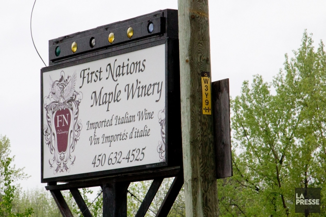 L'enquête se concentrait sur la First Nations Winery.... (PHOTO DAVID BOILY, LA PRESSE)