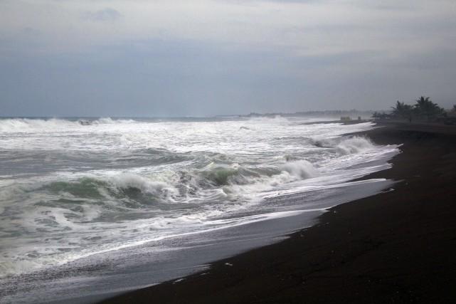 L'ouragandevrait toucher la côte mexicaine vendredi sous la... (PHOTO HECTOR GUERRERO, AFP)