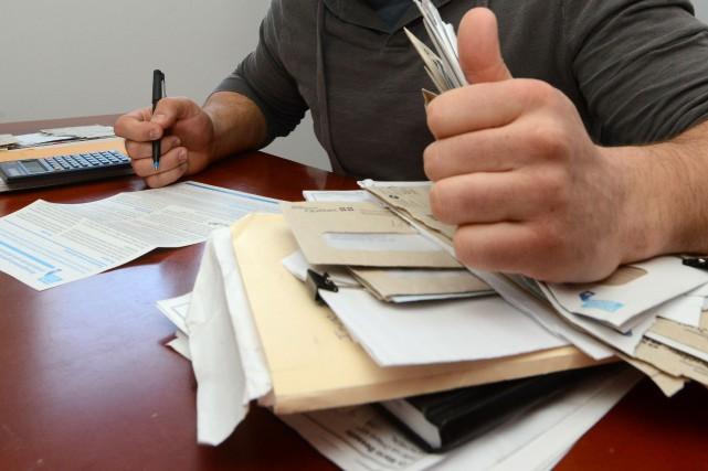 Christian Lachapelle a reconnu jeudi au palais de justice de Sherbrooke une... (Archives La Tribune)