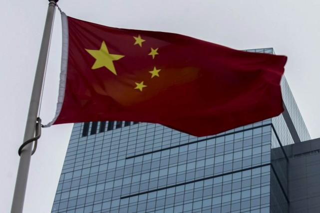 Le patron d'une société de courtage chinoise s'est donné la mort chez lui... (Photo Tyrone Siu, archives Reuters)