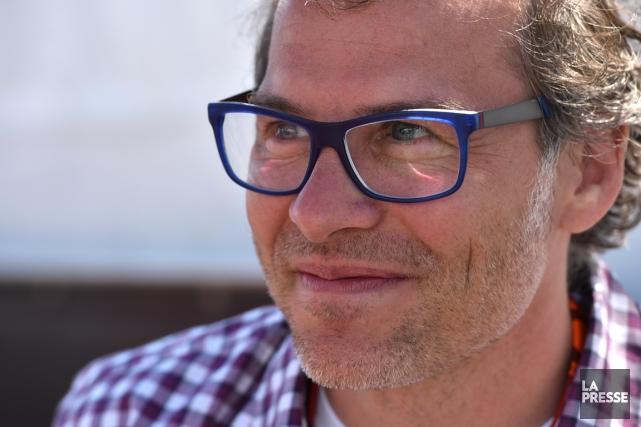Jacques Villeneuvepilotera en Formule E cette saison au... (Photo Bernard Brault, archives La Presse)