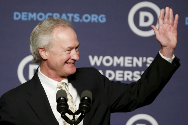 Lincoln Chafee, 62 ans, était l'un de ces... (PHOTO GARY CAMERON, REUTERS)