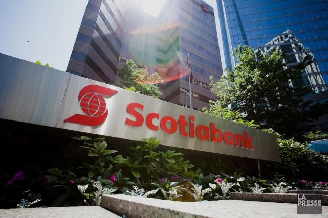La Banque Scotia a vu son bénéfice du deuxième trimestre reculer de 12%, ce... (Photo Ben Nelms, Archives Bloomberg)