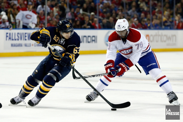 Tyler Ennis et P.K. Subban... (Photo Kevin Hoffman, archives USA Today)