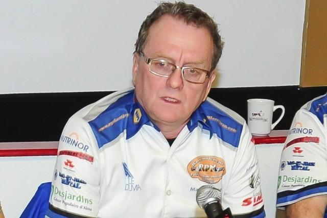 Marcel Saint-Pierre, président du RPM, a annoncé la... (Gimmy Desbiens)