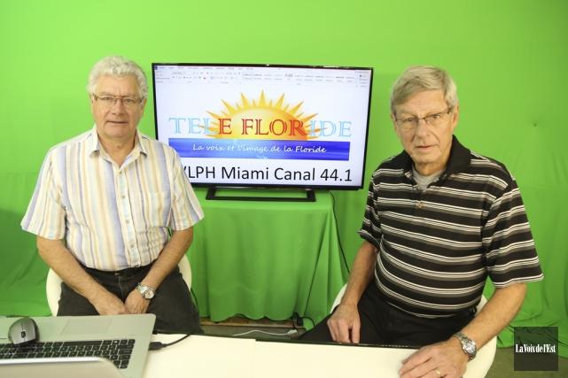 Dominique Delbast et Robert Leblond préparent le lancement... (Janick Marois, Archives La Voix de l'Est)