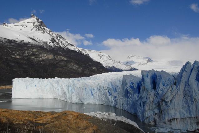 Le glacier Perito Moreno de la Patagonie.... (André Maurice)