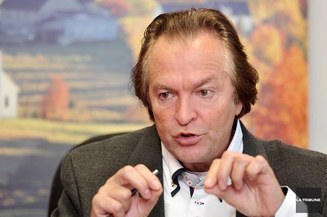 Le directeur général de Tourisme Cantons-de-l'Est, Alain Larouche,... (Archives La Tribune)