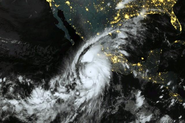 La tempête devrait prendre de la vigueur le... (Photo AFP)