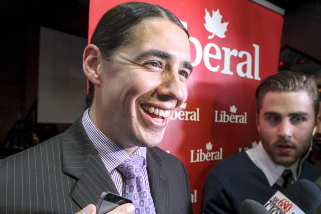 Le nouveau député libéral Robert-Falcon Ouellette a défait... (WINNIPEG FREE PRESS, MIKE DEAL)