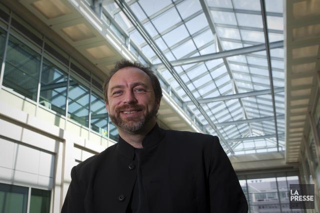 Le fondateur de Wikipédia, Jimmy Wales, a été... (Archives La Presse)