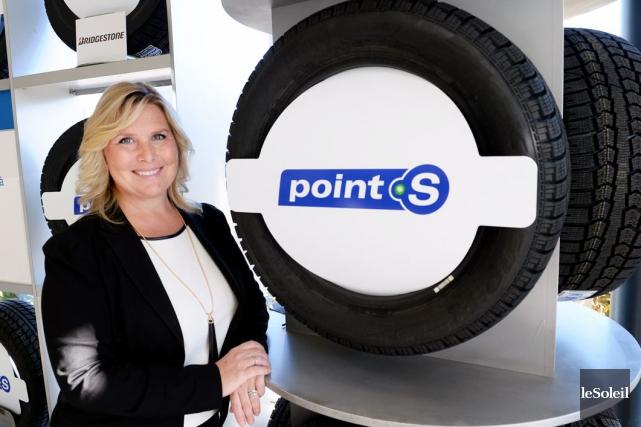 Charlyne Ratté, copropriétaire du Groupe Ratté, a présenté... (Photo Le Soleil, Jean-Marie Villeneuve)