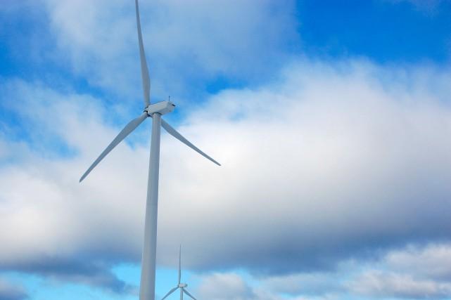 Le premier parc éolien des Îles-de-la-Madeleine prévoit trois... (Photo collaboration spéciale Johanne Fournier)