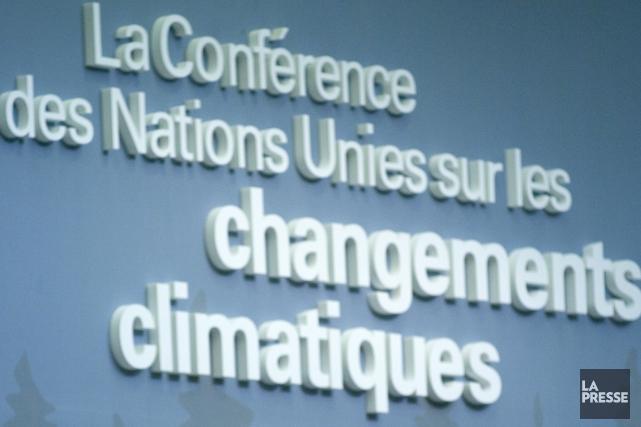 La conférence des Nations unies sur le climat... (Archives La Presse)