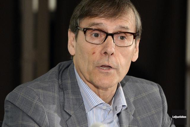 Lors d'une téléconférence avec les investisseurs, Richard Garneau... (Archives Le Quotidien)