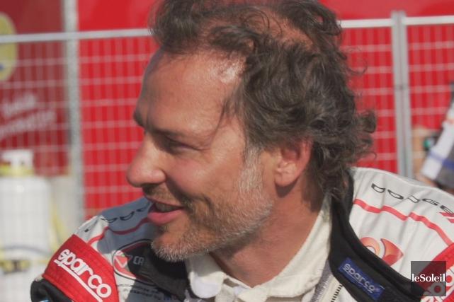 Jacques Villeneuve est la tête d'affiche de la... (Photothèque Le Soleil)