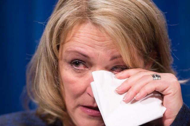 La ministre de la Sécurité publique, Lise Thériault,... (La Presse Canadienne, Jacques Boissinot)