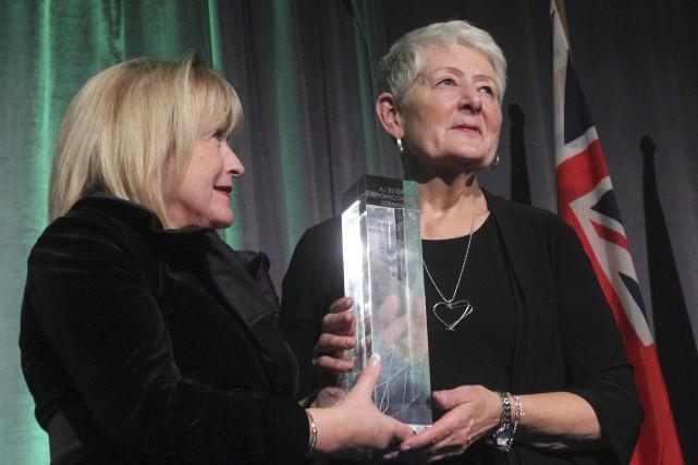 Madeleine Meilleur a remis le Prix de la... (Charles-Antoine Rouyer, collaboration spéciale)