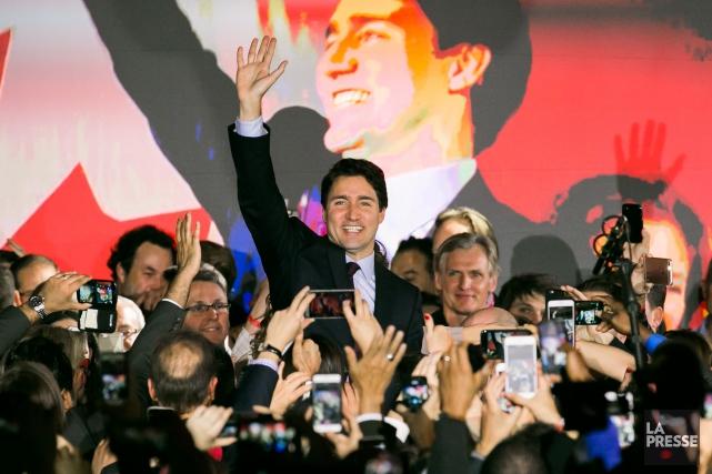 Justin Trudeau a réussi à séduire un souverainiste... (La Presse, Martin Tremblay)