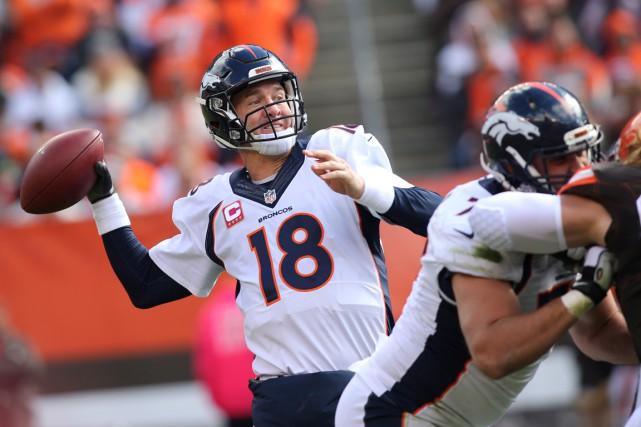 Les Broncos de Denver peuvent se compter chanceux... (AP, Aaron Josefczyk)