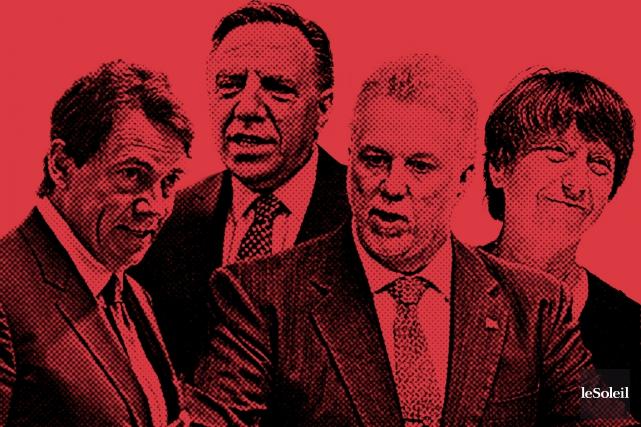 Le Parti québécois cherche un partenaire. Il parle... (Infographie Le Soleil)