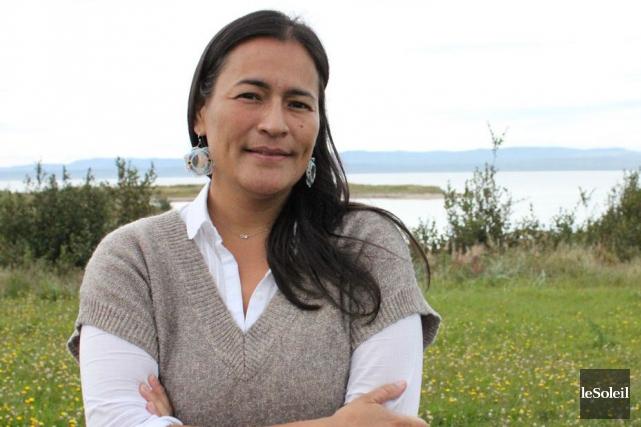 La leader autochtone Michèle Audette... (Photothèque Le Soleil)